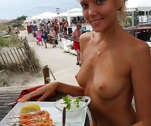 Nude And Food