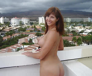 On The Balcony