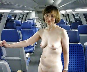 Category: public transport nudity