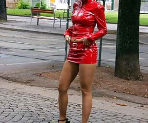 Category: shiny dress and outfit